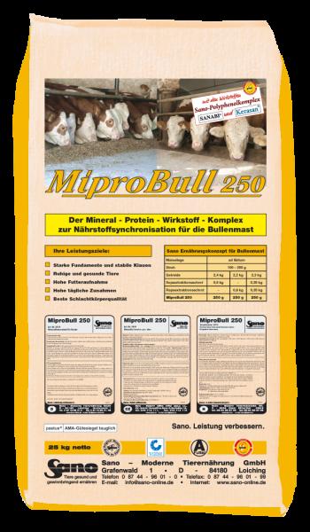 MIPRO BULL 250 Mineralfutter | Sackware (25kg)