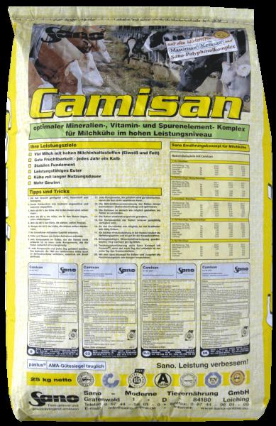 CAMISAN Mineralfutter für hohe Milchleistung I Sackware (25kg)