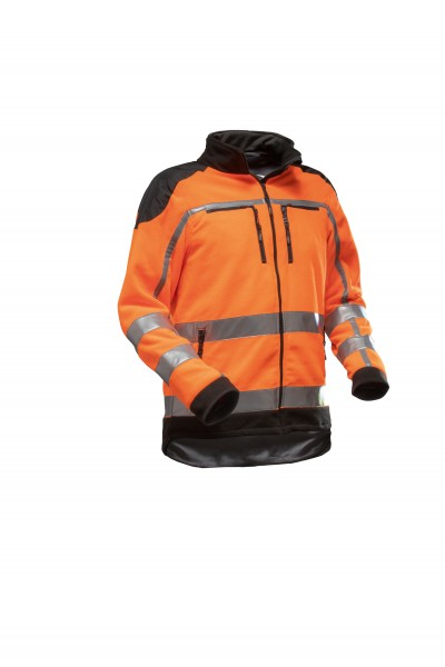 Zipp2Zipp Jobby Colour Warn-Fleecejacke EN 20471