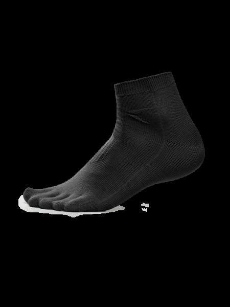 Zehen-Taschen-Socken low