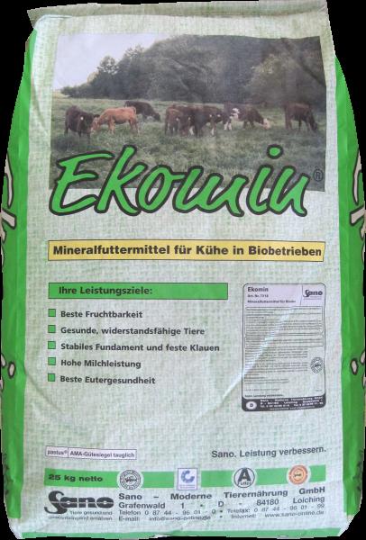 EKOMIN BIO-Mineralfutter   Sackware (25kg)