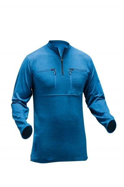 Skin-Dry Thermo Zipp-2-Zipp Shirt langarm