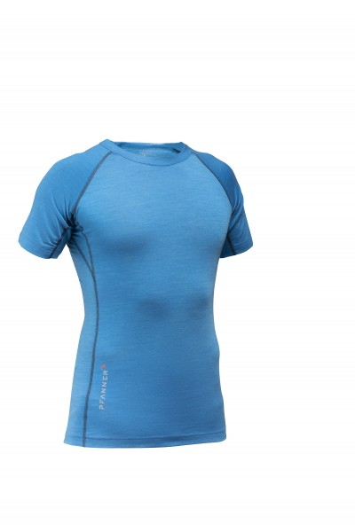 Merino-Tencel Shirt kurzarm