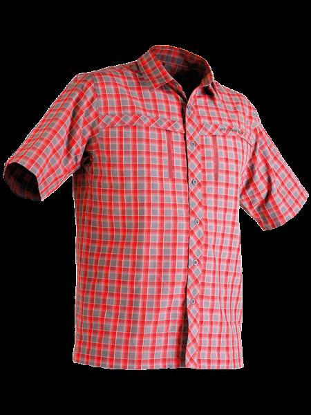 Zipp-2-Zipp Cocos-Hemd kurzarm